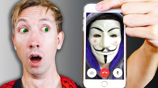 CALLING The HACKERS iPHONE and Exploring Abandoned Mystery Evidence (YouTube Hacker FaceTime) thumbnail