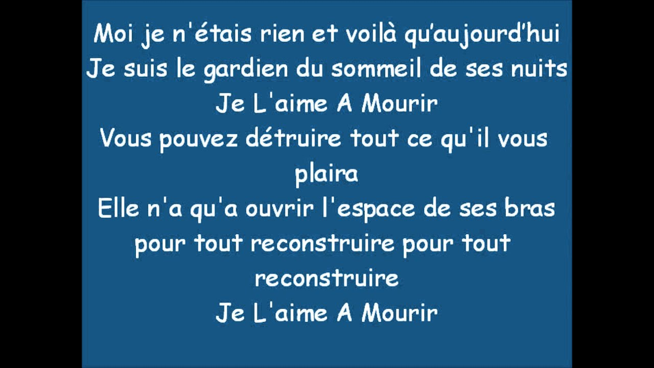 Populaire Shakira - Je L'Aime a Mourir - YouTube BY35