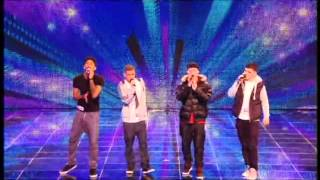 BRITAIN'S GOT TALENT 2012 AUDITIONS - THE MEND (HQ)