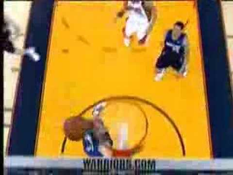 Warriors vs. Mavs 2007 Playoff Highlights