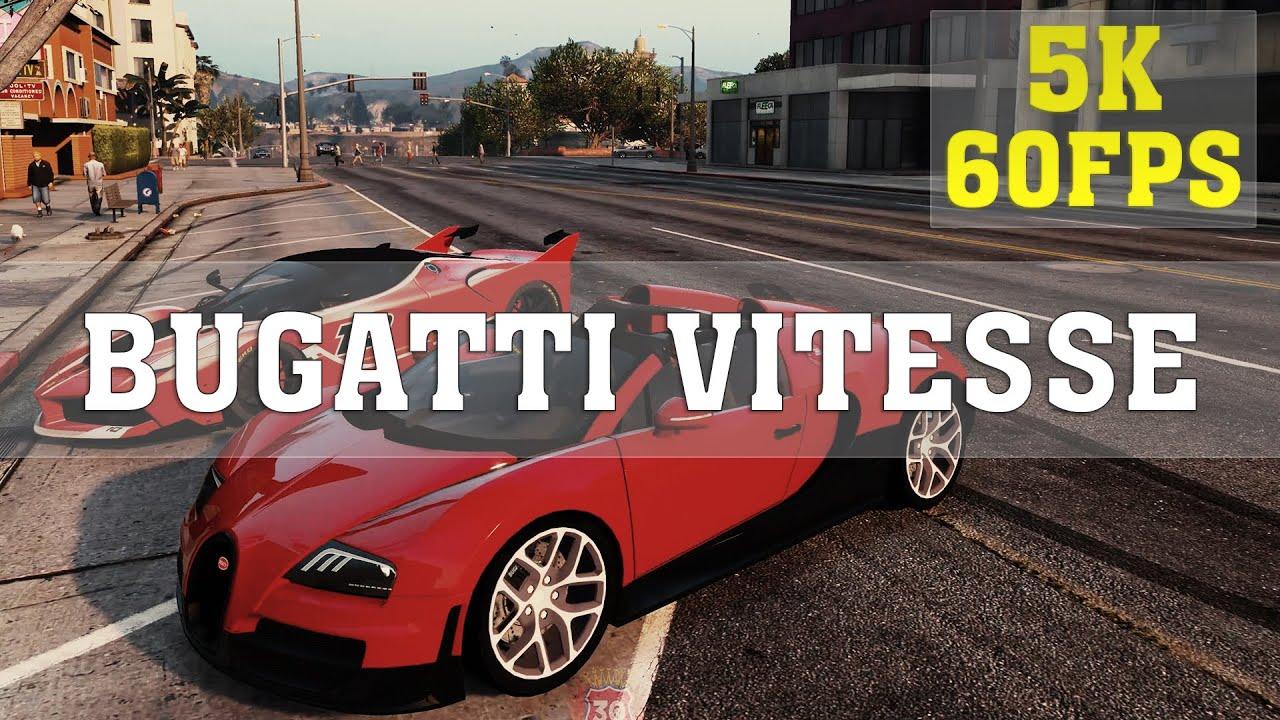 gta v mods - bugatti veyron vitesse - epic moments | funny moments