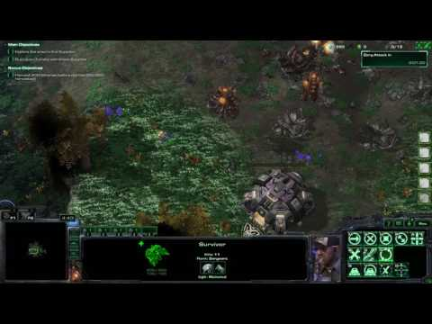 Starcraft 2 Arcade: Stranded on Krydon Renewed