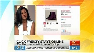 Click Frenzy goes crazy