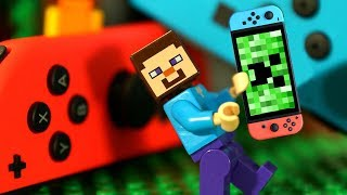 НУБ МАЙНКРАФТ против NINTENDO SWITCH Мультфильмы Лего Мультики Видео для Детей
