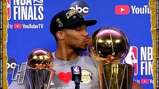 Giannis Antetokounmpo Postgame Interview - Game 6 - Suns vs Bucks   2021 NBA Fin