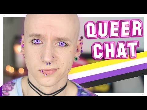 Death Threats For Being Non Binary | Queer Chat | Roly