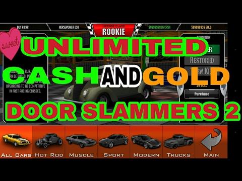 100% UNLIMITED CASH AND GOLD MOD-Door Slammers 2 (Read Description)