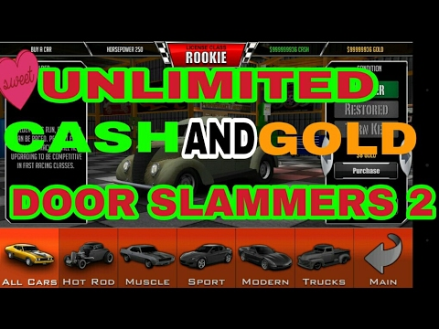 how to get unlimited gold on doorslammers 2