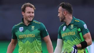 Faf Du Plessis six video