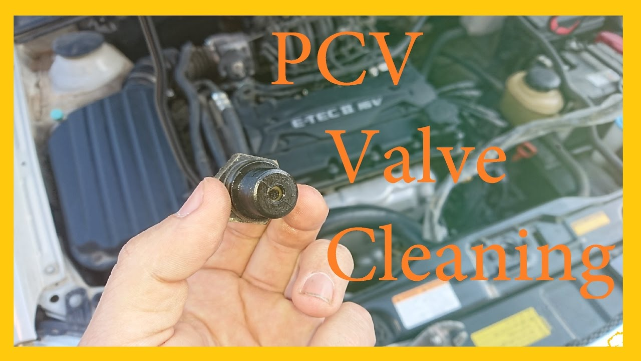 PCV Valve Cleaning - YouTube