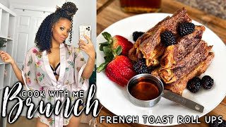 COOK WITH ME  BRIOCHE French Toast Roll Ups FAST &amp EASY At Home BRUNCH Recipes for LOCKDOWN