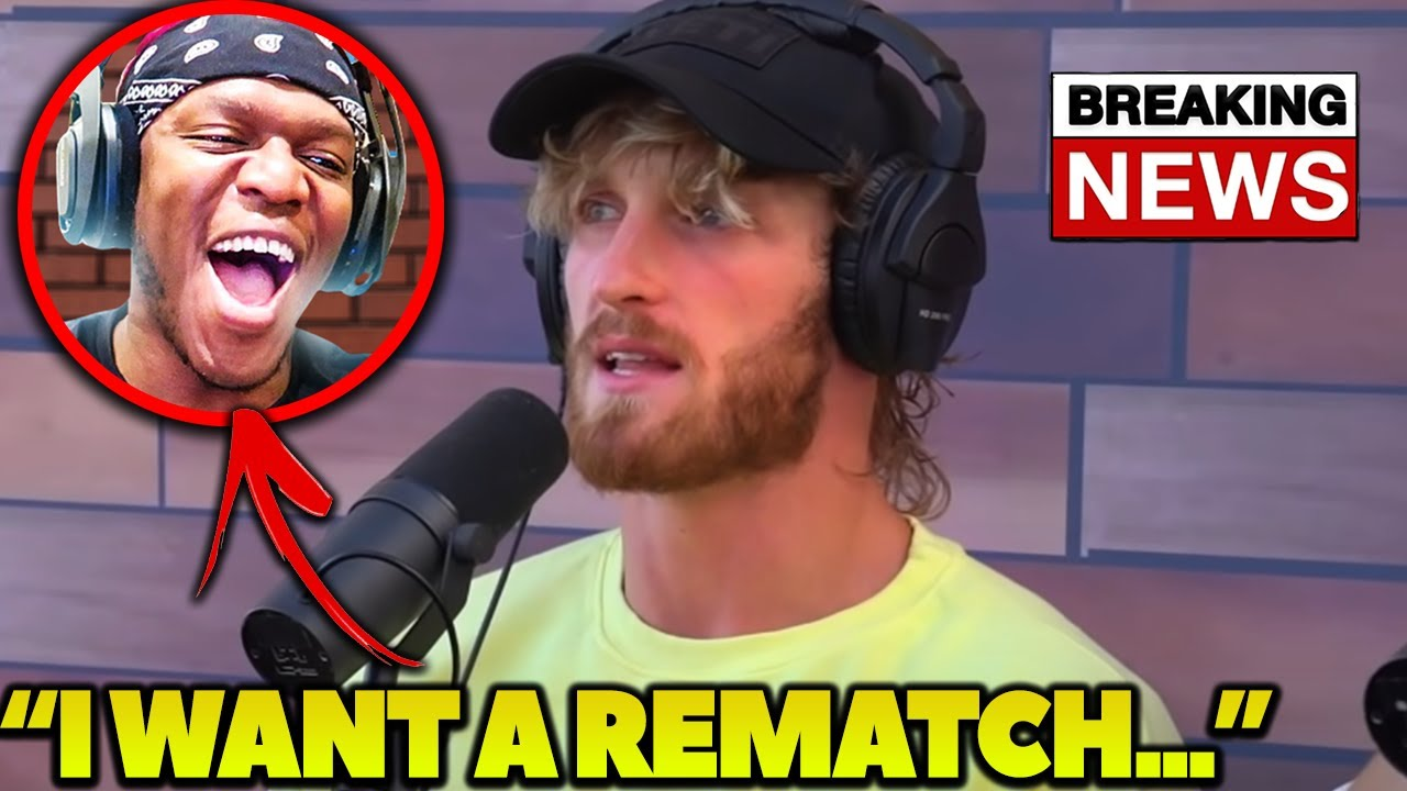 Logan Paul CALLS OUT KSI For A Boxing Rematch