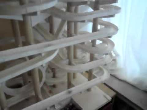 paper roller coaster (murmelbahn) ca.26,5m - youtube,