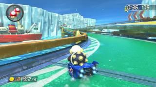 Ice Ice Outpost - 1:44.697 - xı◆Alex (Mario Kart 8 World Record)