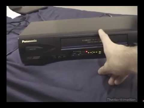Life and Death of a Panasonic 4-head stereo VCR (and lots of info about Panasonic VCRs)