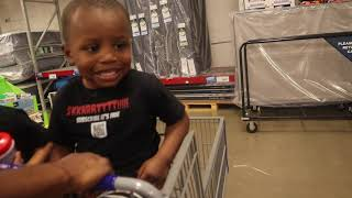 Come to SAM'S CLUB with us for the FIRST time | stay at home mom | 2 toddlers under 3