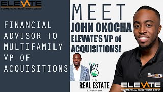 Meet John Okocha! Elevate's VP of Acquisitions!