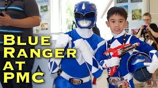 MJ as the Blue Ranger at Power Morphicon 2014