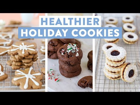 3 EASY Holiday Cookie Recipes!