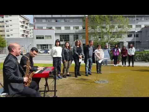 Inauguración de la avenida de María Victoria Moreno