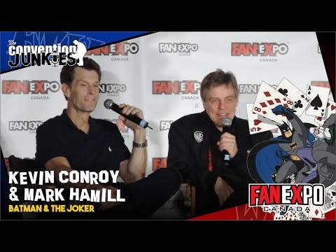 Kevin Conroy and Mark Hamill - Toronto Fan Expo 2016 - Complete Panel