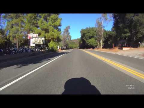 Leaving Elsinore On Ortega Hwy Rear View