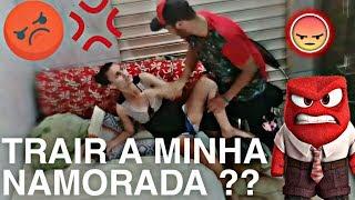 FUI TROLAR MINHA NAMORADA E OLHA NO QUE DEU