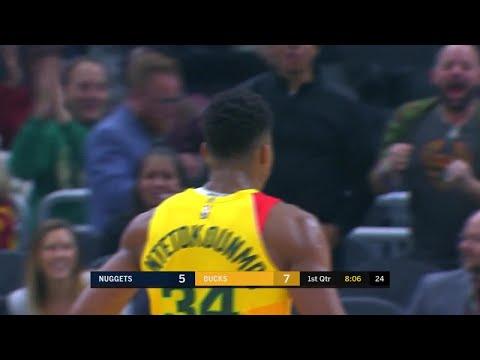 1st Quarter, One Box Video: Milwaukee Bucks vs. Denver Nuggets