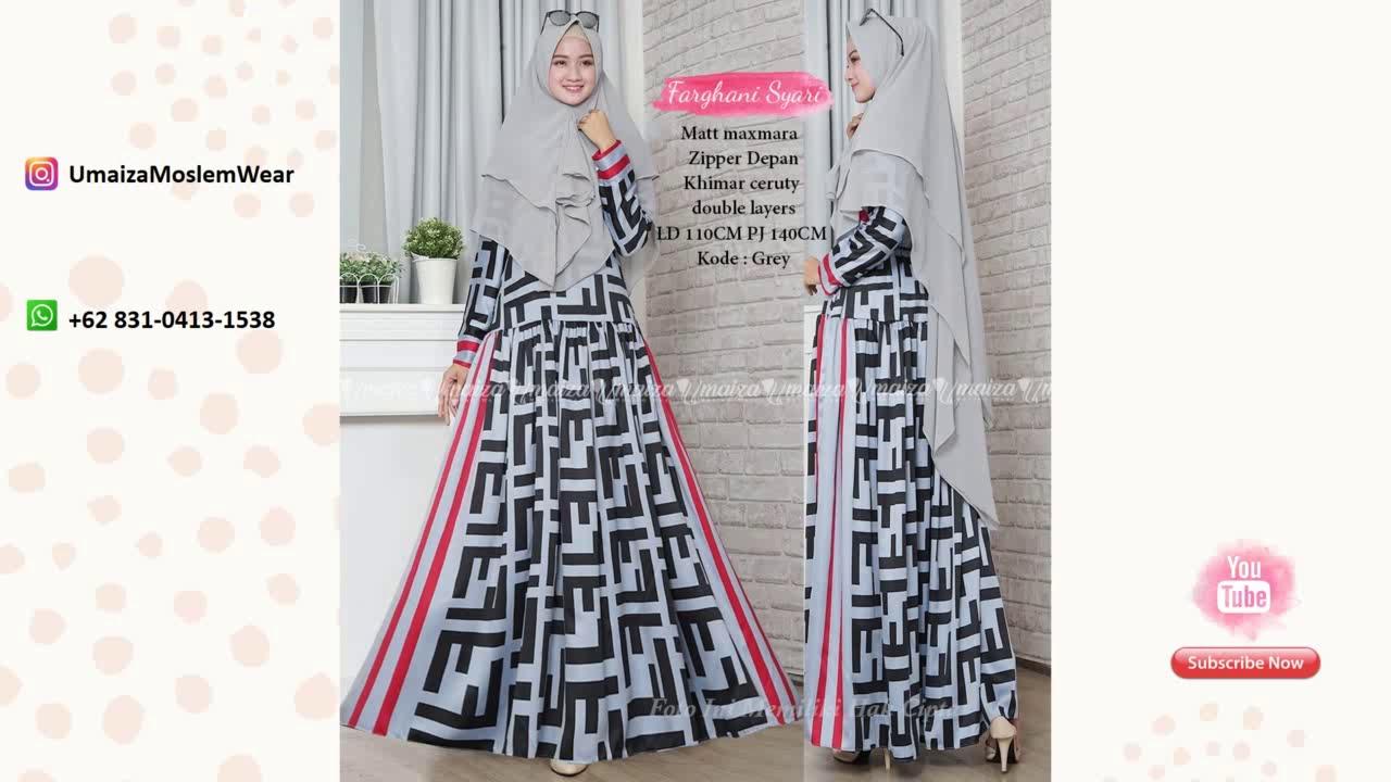 Model Baju Gamis Brokat Terbaru 2019 Wa 62 831 0413 1538 Baju