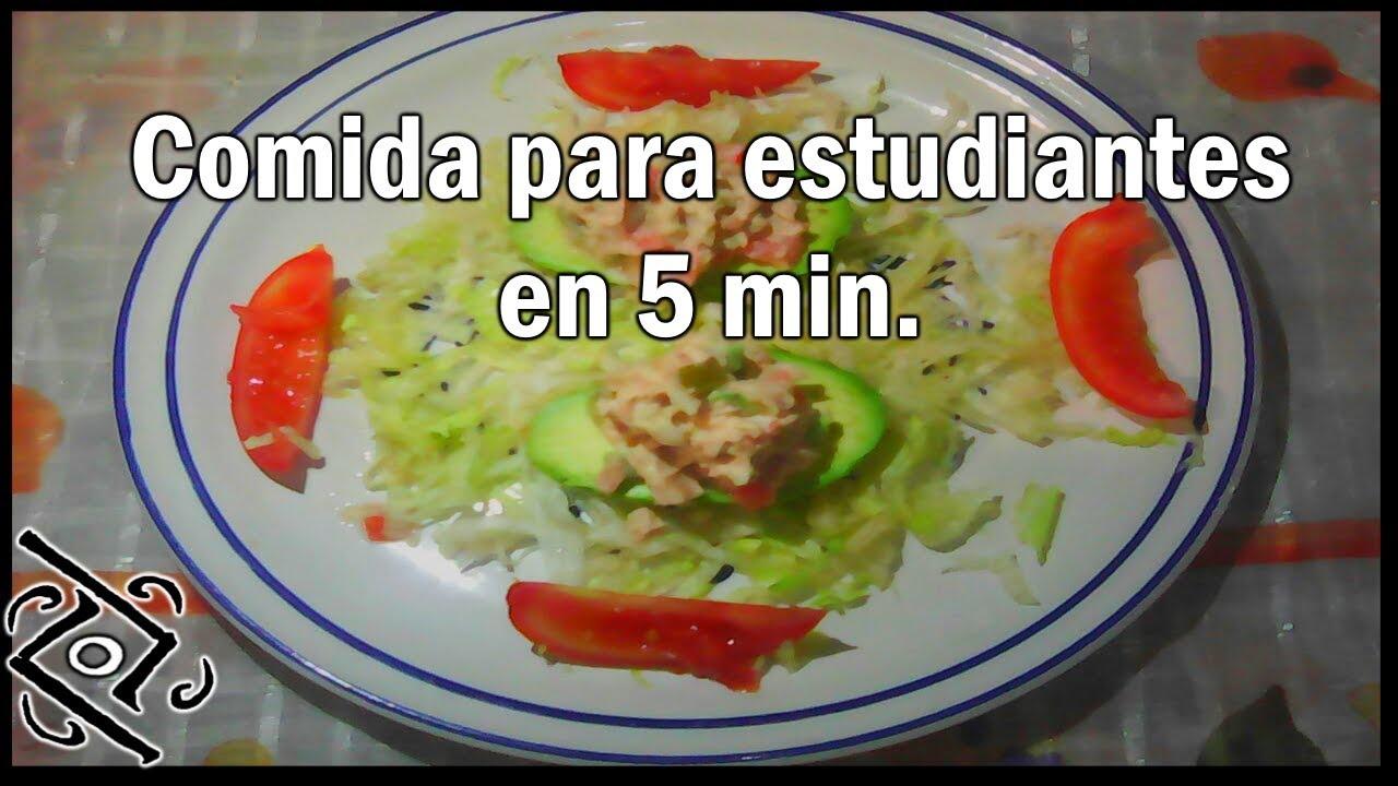 recetas faciles para personas que no saben cocinar