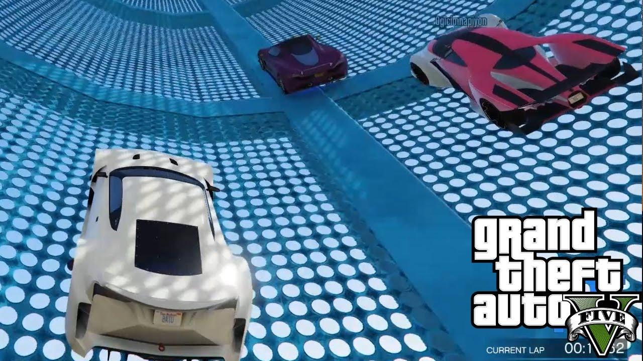 TÜPTE KIYASIYA YARIŞ!!- GTA 5 Online Komik Anlar #145
