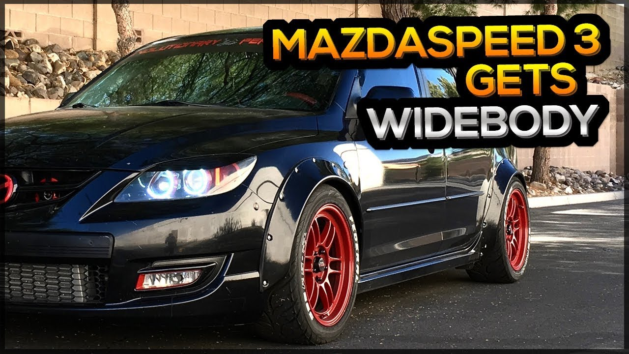 HOW TO INSTALL FENDER FLARES PROPERLY MAZDASPEED 3