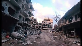 Tour of the Yarmouk Camp | January 2019 | Southern Damascus, Syria