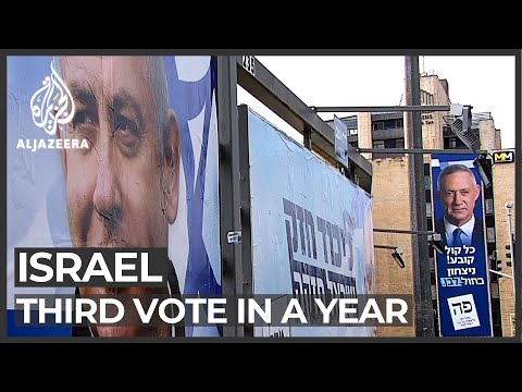 Israel General Elections: Third Vote In Less Than A Year