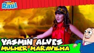 YASMIN ALVES - Mulher Maravilha - Festival Infantil de Cinema (Raul Gil)