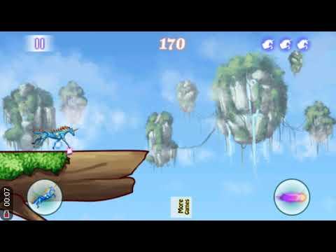 Magical Unicorn Dash Game Play | Unicorn Game Play |