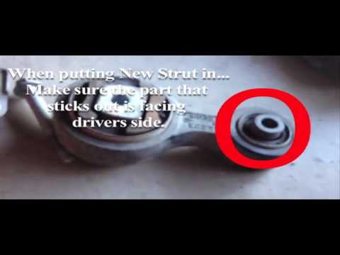 How to: Changing out the torque strut on 2006 Ford Fusion (4Cyl)