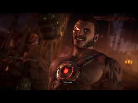 Mortal Kombat 11 - Sonya vs Kano - All Intro Dialogues