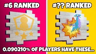 TOP 10 RAREST SPRAYS IN FORTNITE! (and how to get them)