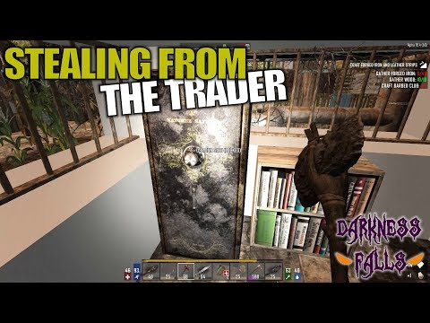 STEALING FROM THE TRADER | Darkness Falls MOD 7 Days to Die | Multiplayer Gameplay | S02E03