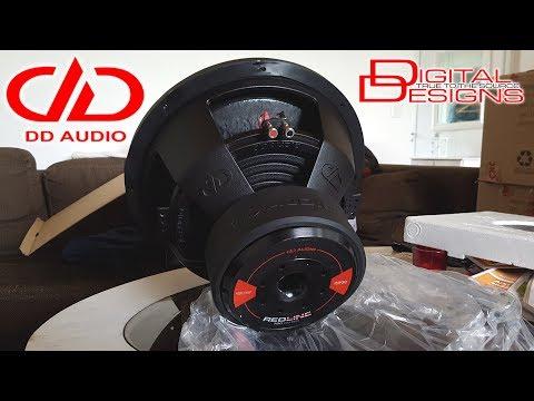 """NEW DD Audio Redline 715d 15"""" 1200W RMS 3600W Peak"""