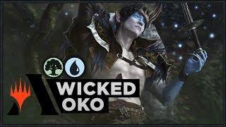 Download lagu Wicked Oko Throne of Eldraine Standard Deck MP3