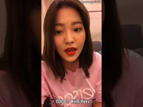 [180520] Kim Yeri Singing '1000' & 'To 20' LIVE on Red Velvet IG! | 레드벨벳 예리