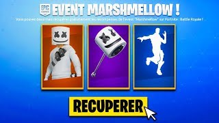 🎁 ALL FREE RECOMPENSES OF EVENT MARSHMELLOW ON FORTNITE!