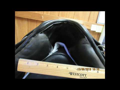 County Warmblood Used Dressage Saddle 17