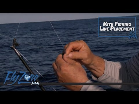 Proper Kite Line And Clip Placement When Fishing