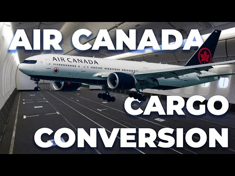 Air Canada Removes Seating From 777s To Increase Cargo Capacity