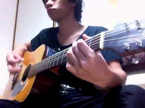 Testing my new takamine ef-385(rhythm)