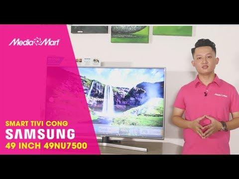 Smart Tivi Cong Samsung 49 inch 49NU7500 - Tinh tế trong từng đường nét