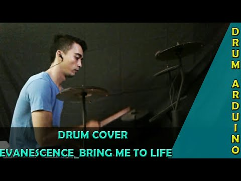 Evanescence_bring Me To Life Drum Cover (drum Arduino)